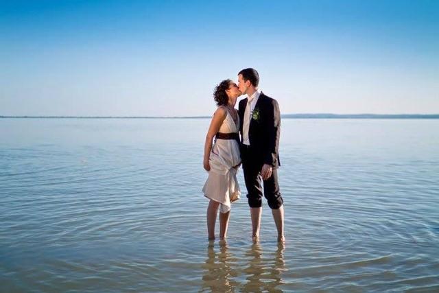 esküvő tengerpart